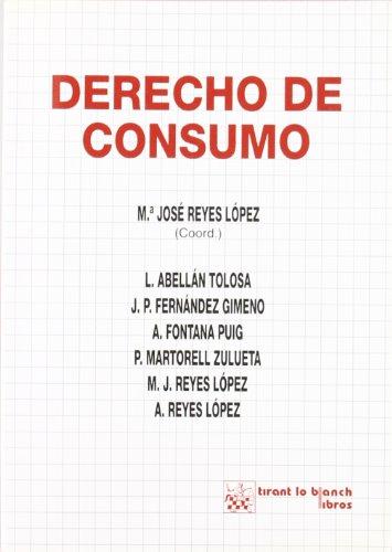 9788480028141: Derecho de Consumo