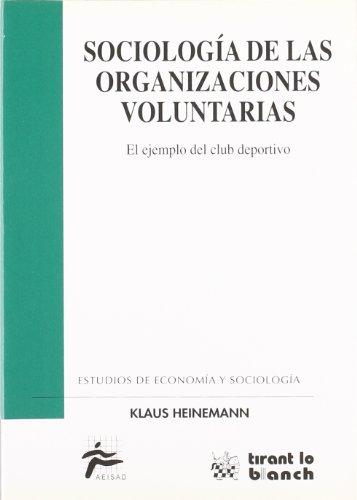 9788480028479: Sociología de las organizaciones voluntarias