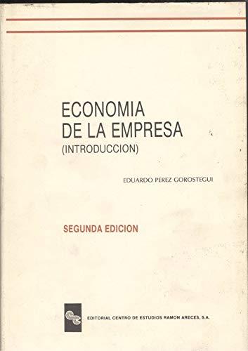 9788480041058: Economia de la empresa (introduccion). 2ª edicion