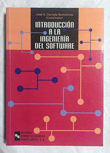 9788480044172: Introducción a La Ingeniería Del Software (Manuales)