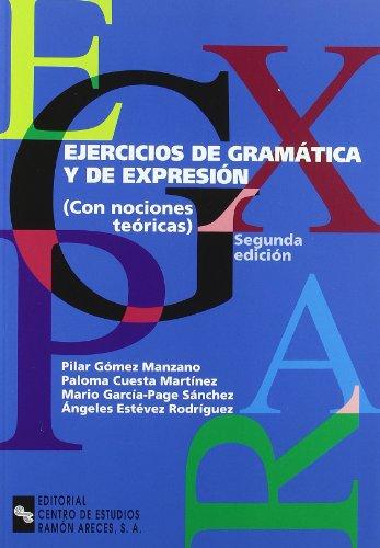9788480045056: Ejercicios de gramática y de expresión