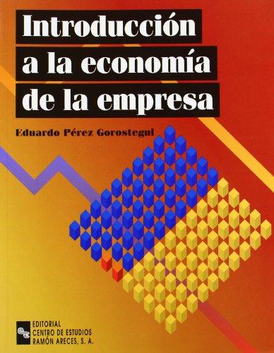 9788480045124: Introducción a La Economía de La Empresa (Manuales)