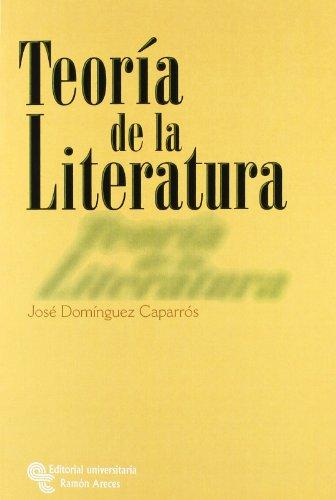 9788480045148: Teoría de La Literatura (Manuales)