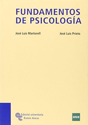 Fundamentos de Psicología: Martorell, José Luis