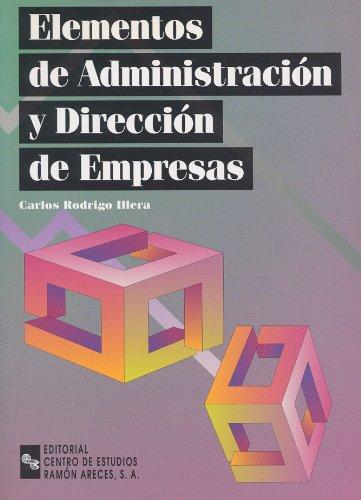 9788480045308: Elementos de administración y dirección de empresas (Manuales)