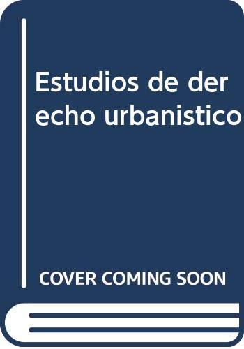 Estudios de derecho urbanístico: García Rubio, Fernando