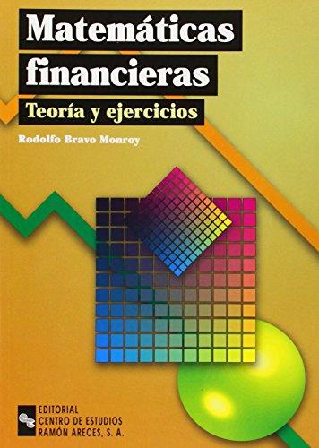 9788480046626: MATEMATICAS FINANCIERAS: TEORIA Y EJERCICIOS ...