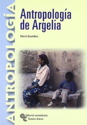 9788480047883: Antropologia de Argelia