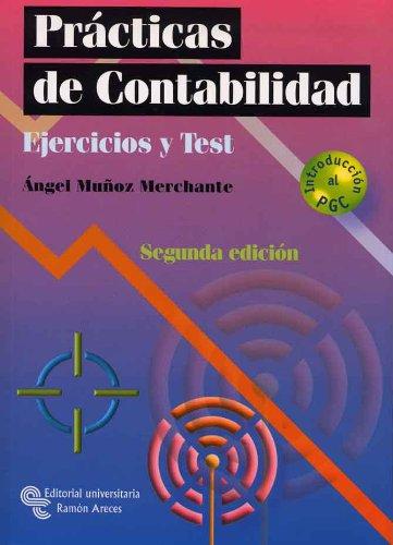 9788480048675: Prácticas de contabilidad: Ejercicios y test (Manuales)