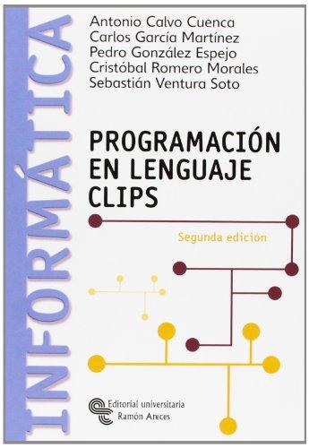 9788480048798: Programación En Lenguaje Clips (Manuales)