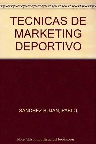 9788480133999: Tecnicas de marketing deportivo