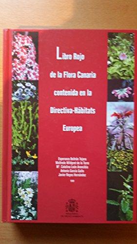 9788480142793: Libro Rojo de las especies de la flora canaria