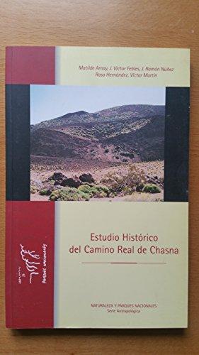 9788480145091: Estudio Historico del Camino Real de Chasna