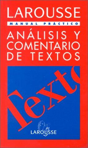 9788480161152: Analisis Y Comentarios De Textos Manual Practico (Practicos)