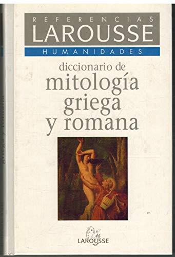 9788480161497: Mitologia griega y romana diccionario de