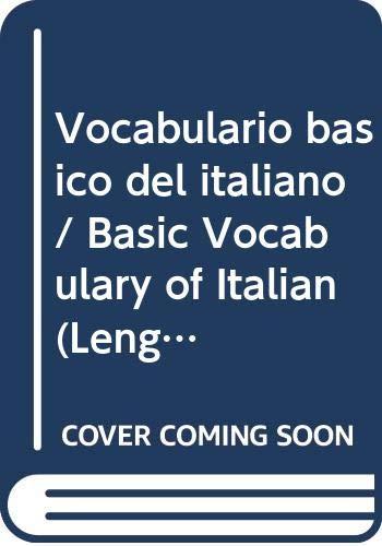 9788480164818: Vocabulario Basico Del Italiano (Lengua Italiana)