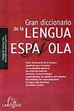 9788480164962: Gran Diccionario De La Lengua Espanola/ Big Dictionary of Spanish Language (Spanish Edition)