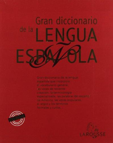 9788480165167: Gran diccionario de la lengua española / Great Dictionary of the Spanish Language (Spanish Edition)