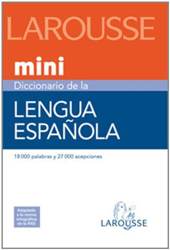 9788480165327: Mini diccionario de la lengua espanola/ Mini Dictionary of the Spanish Language