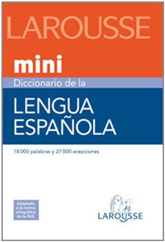 9788480165327: Mini diccionario de la lengua espanola/ Mini Dictionary of the Spanish Language (Spanish Edition)