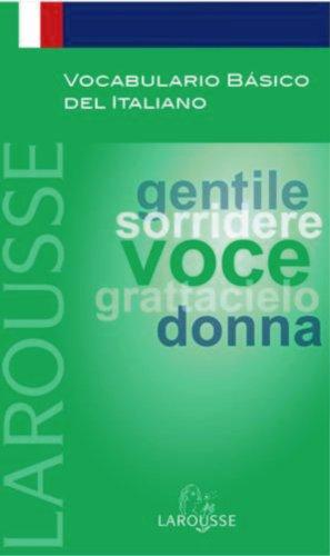 9788480165693: Vocabulario básico del Italiano (Larousse - Lengua Italiana - Manuales Prácticos)