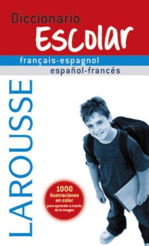 9788480166775: Diccionario Escolar français-espagnol / español-francés (Larousse - Lengua Francesa - Diccionarios Escolares)