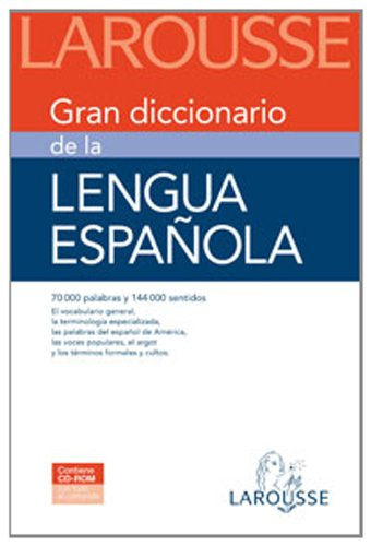 9788480167963: Gran diccionario de la lengua espanola/ Grand Dictionary of the Spanish Language (Spanish Edition)