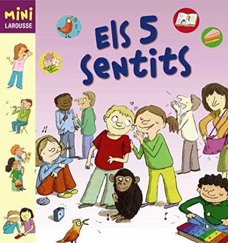 9788480169523: Els 5 sentits / The five senses (Mini Larousse) (Catalan Edition)