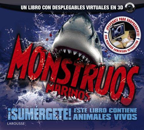 9788480169851: Monstruos marinos (Larousse - Infantil / Juvenil - Castellano - A Partir De 8 Años - Libros De Realidad Aumentada)