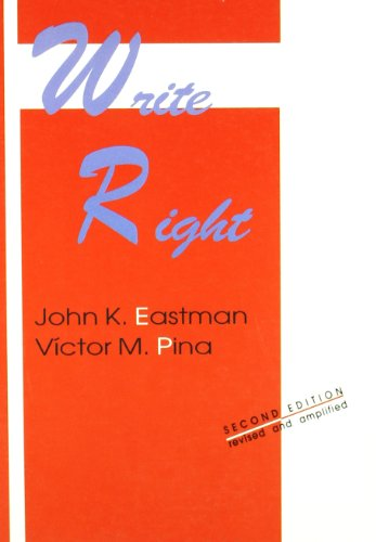 9788480181709: Write right