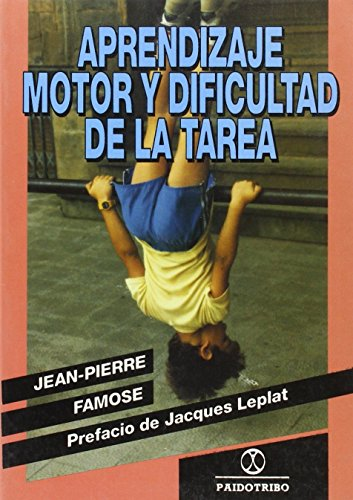 9788480190237: Aprendizaje Motor y Dificultad de La Tarea (Spanish Edition)