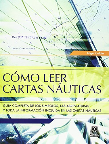 COMO LEER CARTAS NAUTICAS (Color) (Spanish Edition)
