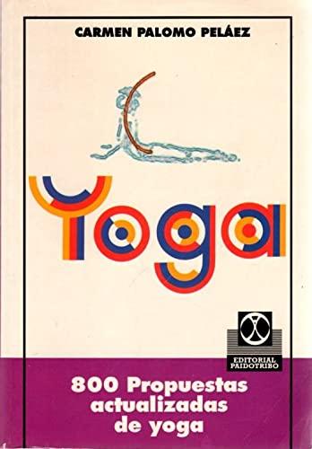 9788480191753: 800 Propuestas Actualizadas de Yoga (Spanish Edition)