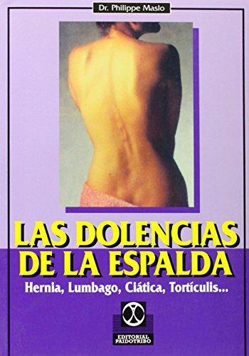 9788480192668: Dolencias de la espalda, las