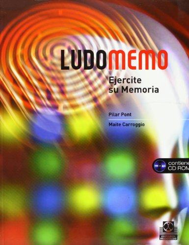 LUDOMEMO. Ejercite su memoria -Libro+CD- (Color). - Carroggio Rubí, Maite.Pont Geis, Pilar.