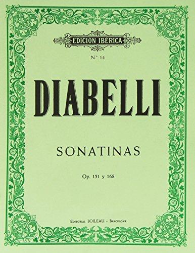 Sonatinas op. 151 y 168: Diabelli, Antonio