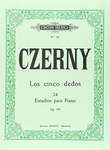 9788480203371: Los Cinco Dedos Op.777
