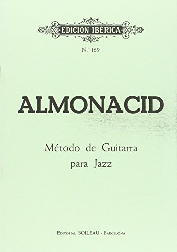 9788480204859: Método Guitarra Jazz