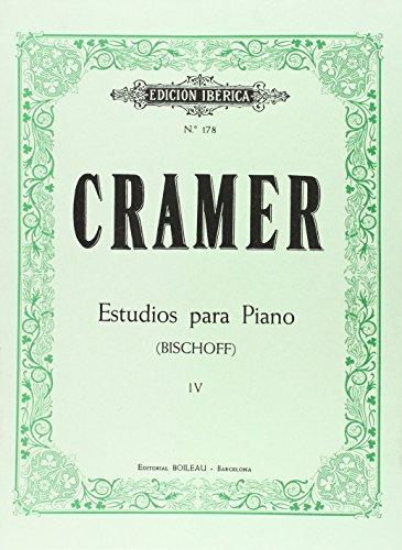 Estudios para piano: Cramer, Johann Baptist / Bischoff, Hans