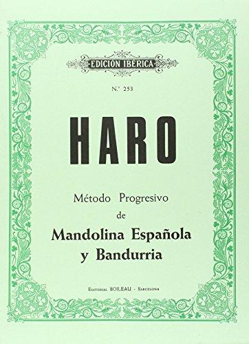 9788480205696: Método progresivo de Mandolina y Bandurria