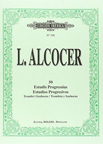 50 Estudios de Trombón y Saxhorns: ALCOCER, Luis