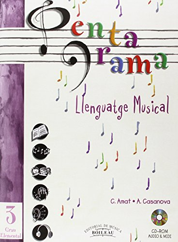 9788480206532: Pentagrama Llenguatge Musical: Pentagrama III Llenguatge Musical Elemental: 3 (Pentagrama Llenguatge Musical 3)