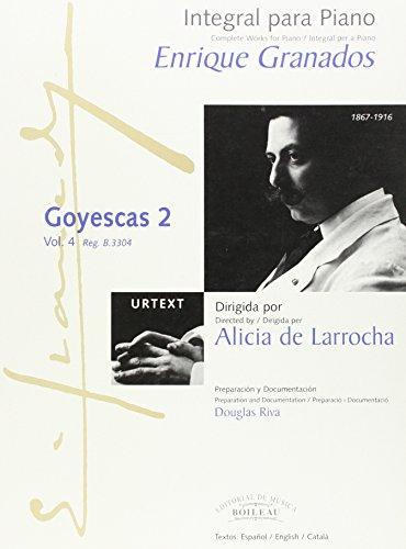 Integral para piano [Música impresa] =: Granados, Enrique.