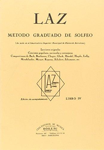 Laz - Libro Iv - Metodo Graduado: Juan B. Lambert,