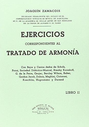 9788480207171: II. EJERCICIOS CORRESPONDIENTES AL TRATADO DE ARMONIA