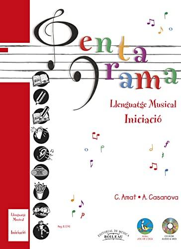 9788480207423: Pentagrama Llenguatge Musical: Pentagrama Pre-llenguatge Musical (INICIACIÓ): 1