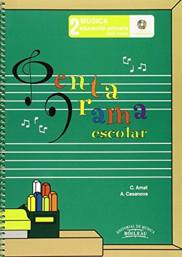 9788480207652: Pentagrama Escolar Música 2: Educación Primaria. Ciclo Inicial - 9788480207652