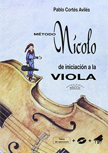 9788480208550: Nícolo - Método de iniciación a la Viola