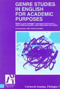 9788480212113: Genre Studies in English for Academic Purposes/ Estudios de Genero en Ingles para propositos academicos (Spanish Edition)