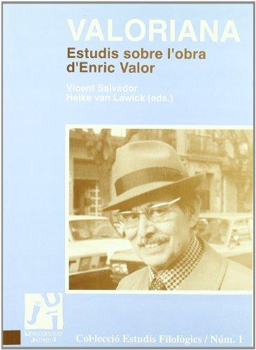 9788480212731: Valoriana. Estudis sobre l'obra d'Enric Valor (Spanish Edition)
